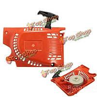 Вытяните отдачи начала стартера красный для китайских бензопилой 4500 5200 5800 45cc 52cc 58cc