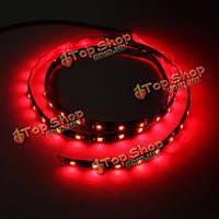 12В 1.2м водонепроницаемый 60-LED гибкие светодиодные полосы красного
