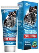 Крем-гель для тела охлаждающе-разогревающий Сила лошади 75мл, LekoPro