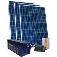 Автономная солнечная станция 150 Вт, 220 В