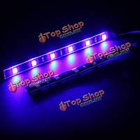 15см LED автомобиля мотоцикла декоративные LED полосы света водонепроницаемый