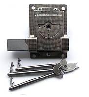 Замок Журавель с падающим ключом нержавейка (Замок Журавель с)