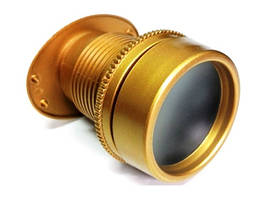 Глазок панорамный S-02 матовое золото