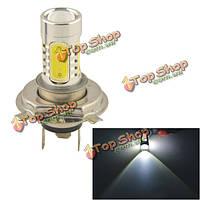 Авто Н4 11вт 5smd LED линза фары противотуманной фарой лампы белого 12V