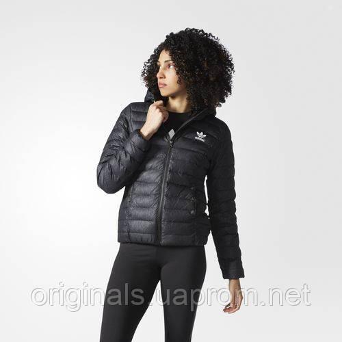 Куртка с капюшоном женская adidas Slim Jacket AY4747 черная  - интернет-магазин Originals - Оригинальный Адидас, Рибок в Киеве