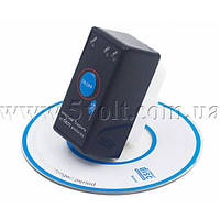 Диагностический адаптер ELM327 Bluetooth mini v2.1 с кнопкой