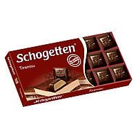 Шоколад черный Schogetten Tiramisu 100 гр