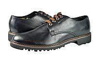 """Мужские туфли """"комфорт"""" из натуральной кожи. mida 110054ч черные   весенние , фото 1"""