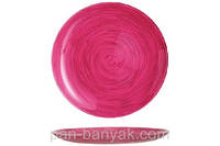 Stonemania Fraise Тарелка десертная круглая без борта d20,5 см ударопрочное стекло Luminarc