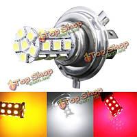 H4 5050 27SMD автомобиль белый LED противотуманных фар дневного света лампы