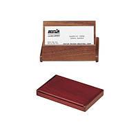 Деревянный контейнер для визиток складной BESTAR 1316 орех (1316WDN)