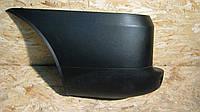 Бампер задний левый клык, оригинал Фиат Добло / Fiat Doblo 2005- / 735415759
