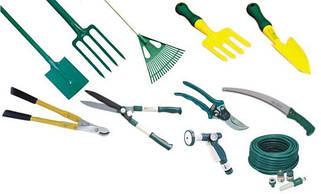 Инструменты для работы в саду и огороде