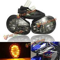 Дым LED сигнал поворота сигнальная лампа лампы скрытой установки для Yamaha YZF-R1 r6 R6S