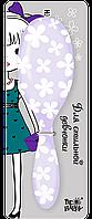 Подарочная расчёска фиолетовая
