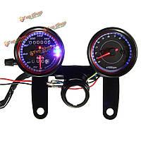 Мотоцикл LED подсветка спидометра одометр тахометр датчик с кронштейном