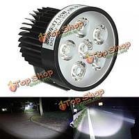 12В 18W светодиодная противотуманная фара для мотоцикла (Лампа белого свечения на 6ть диодов)