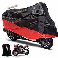 Мотоцикл дождь Ультрафиолетовый пылезащитный чехол пыли велосипедной Protector XL красный черный