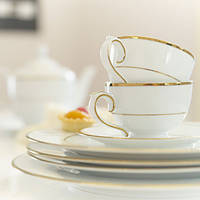 Чайный сервиз на 6 персон 17 предметов Голд Лайн
