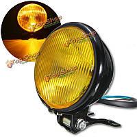 12v универсальный мотоцикл 5-дюймов 30 светодиодный фонарь для Harley кафе Racer Поплавок