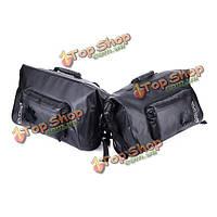 Мотоцикла scootor полный водонепроницаемый пакет сумки рыцарь черный мешок