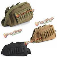 Тактические военные винтовки приклад щеку отдыха оболочки патронов мешок держатель мешка