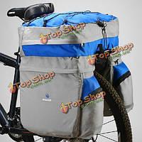 Большой тройной заднего кринолин багаж сумку и водонепроницаемый чехол для Roswheel