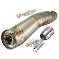 Титан 38-51mm глушитель труба глушителя скольжения на мотоцикл для гонок улице велосипедов