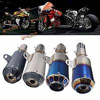 38-51мм мотоцикл Г.П. глушитель конец трубы глушителя скольжения на нержавеющей стали