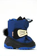 Сапоги на мальчика зимние Alisa LINE Cat синие 20-24р.
