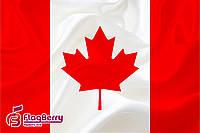 Флаг Канады 80*120 см., искуственный шелк