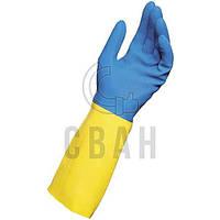 Перчатки латексные Delta Plus DUOCOLOR 330