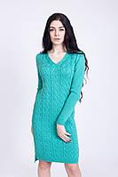Соблазнительное теплое платье
