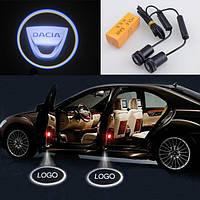 Подсветка дверей авто проектор логотипа автомобиля Dacia