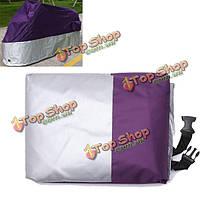 Мотоцикл крышка розничная водонепроницаемый УФ-защита фиолетовый + серебро