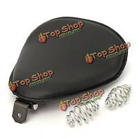 Соло сиденье круглой формы с кронштейном крепления для пружины Harley измельчитель Поплавок Спортстер