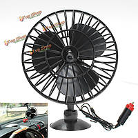 12v 1a 15w 4-дюйма дискового типа автомобиля охлаждающий вентилятор присоске с прикуривателя