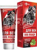 Крем-гель Сила лошади для вен 75мл, LekoPro