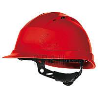 Защитная каска Delta Plus QUARTZ UP IV, цв.красный