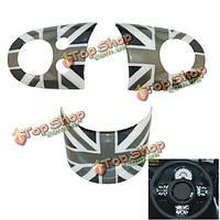 ABS машина руль чехол для Mini Cooper земляк R55/R56/R57/R58/R59/R60/R61