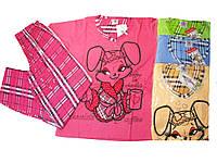 Пижама для девочек трикотажная, размеры 140, арт. 688