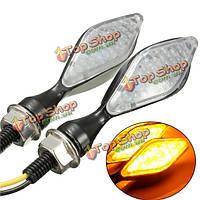12v включить сигнальные индикаторы универсальный 12 LED мотоцикл мотоцикл легкий металл
