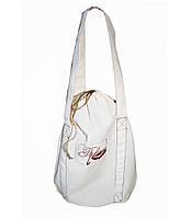 Эко-сумка из натуральной ткани, унисекс
