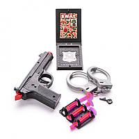 Игровой набор Na-Na Полицейский с пистолетом и наручниками IM116C