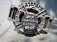 Генератор б/у на Jeep Grand Cherokee 2.7crd; Chrysler Cruiser 2.2crd год 2002-2010 (новое реле)