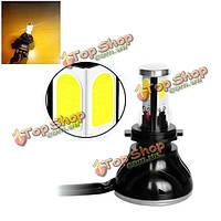 1шт h1/h3/h4/H7/H11/H8/9005 мотоцикл глыбы g5 LED фары 9v-36v 40Вт 4000lm водонепроницаемая IP68