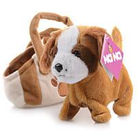 Интерактивная игрушка Na-Na Собака в сумке, поёт и гуляет IF49S