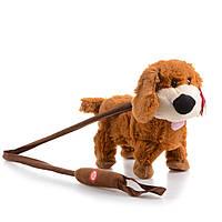 Интерактивная игрушка Na-Na Собака с музыкой и поводком IF57S