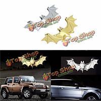 3D автомобиль металлический хром летучая логотип эмблема переводная картинка эмблема наклейка значок грузовик авто двигатель