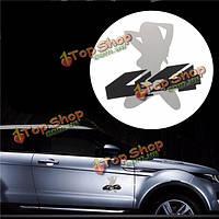 3D автомобиля металла 4x4 сексуальная девушка эмблема переводная картинка эмблема наклейка значок грузовик авто двигатель